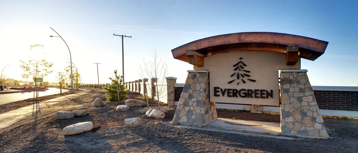 Evergreen Sound Wall Installation